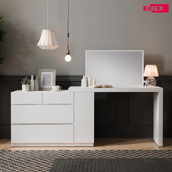 [EB] 이오스 수납 화장대+책상(거울 포함)