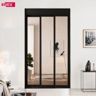 [EHI] 샤인 브론즈 슬림도어 3연동 아파트 현관중문 (1,100~1,400)