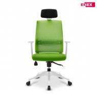 [EC] 포드 500 메쉬 화이트 요추 시스템 의자