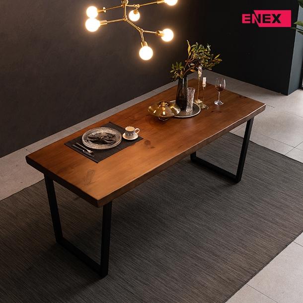 [EKD] 로망스 우드슬랩 카페 식탁 테이블(1800)