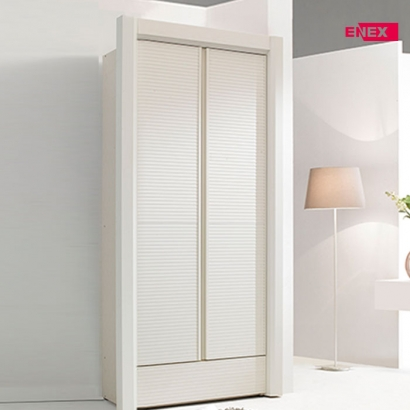 [EB] 데이지 화이트 갤러리 장롱-116cm