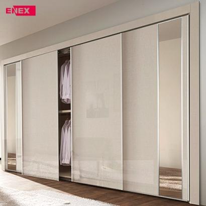 [EB] 케인 슬라이딩 장롱(거울도어)-207cm