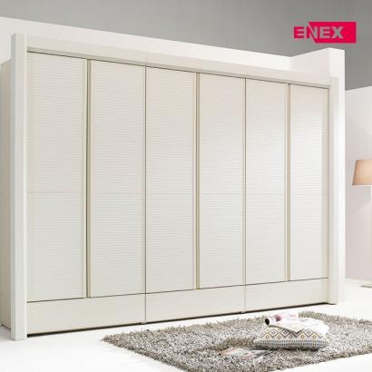 [EB] 데이지 화이트 갤러리 장롱-214cm