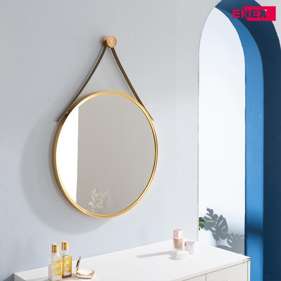 [EB] 해나 골드 스틸 거울(원형거울/팔각거울)