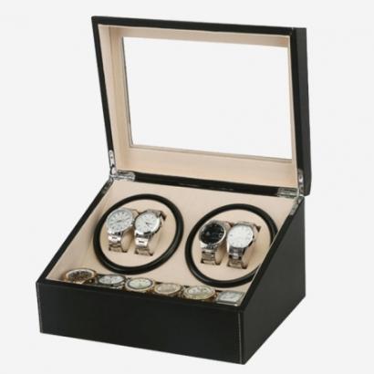 [홈스토리] 명품 오토매틱 시계보관함 와치와인더 4+6구 시계거치대 시계케이스 워치와인더 악세사리보관함