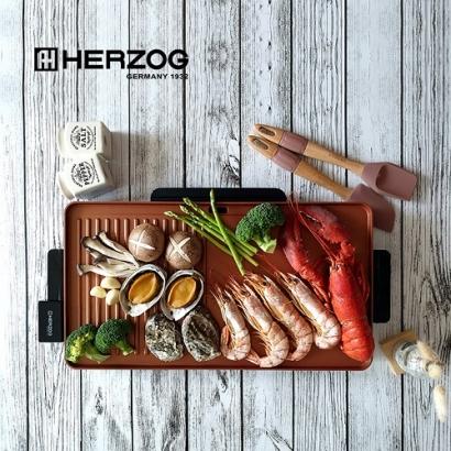 [헤르조그] 황동 전기 그릴 MCHZ-NL001