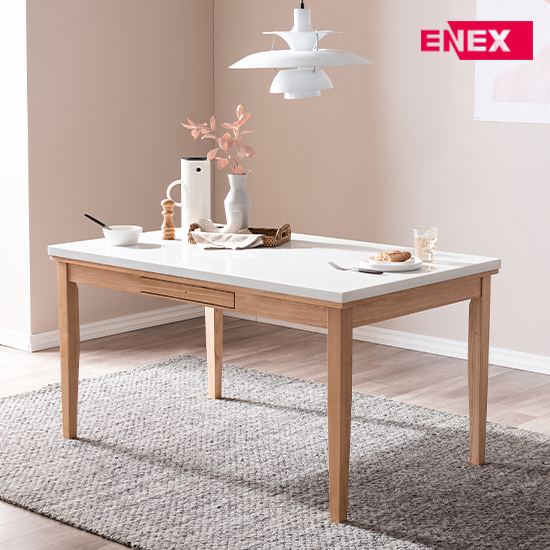 [EKD] 티파니 6인용 대리석 식탁세트(의자6개)