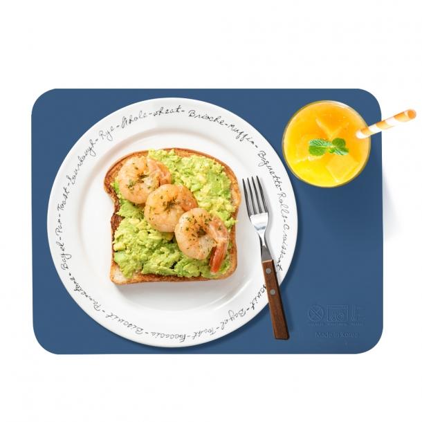 국내생산-kcc소재 다용도 실리콘 식탁 매트(사각) 4개 set
