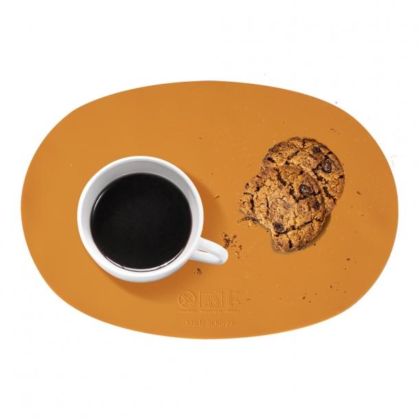 국내생산-kcc소재 실리콘 식탁 매트 (타원형) 2개 set