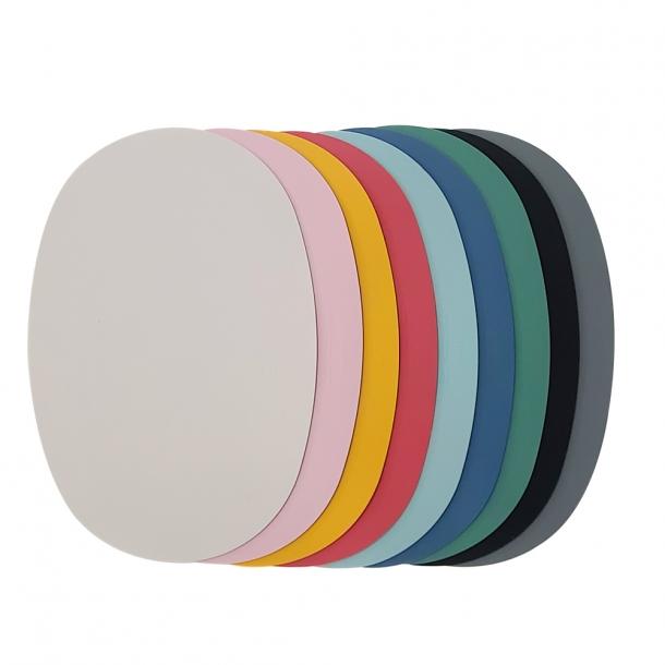 국내생산-kcc소재 실리콘 식탁 매트(타원형) 3개 set