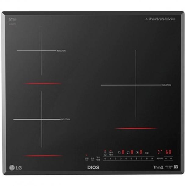 LG전자 디오스 3구 인덕션 BEI3GST (영업일 기준 7일 이내 배송/설치) (네이버페이 결제 시 적립)