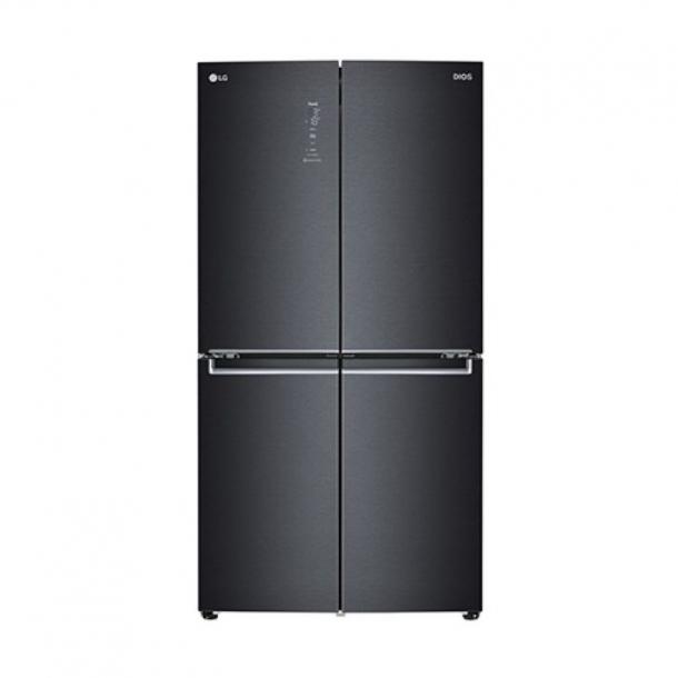LG전자 DIOS 냉장고 4도어 양문형 더블매직스페이스 맨해튼 미드나잇 색상 F873MT55E