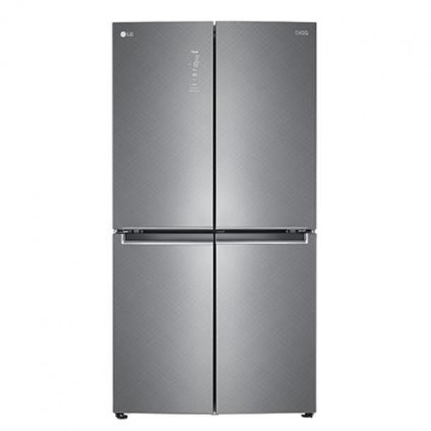 LG DIOS 냉장고 4도어 양문형 더블매직스페이스 샤이니 사피아노 F873SN55E