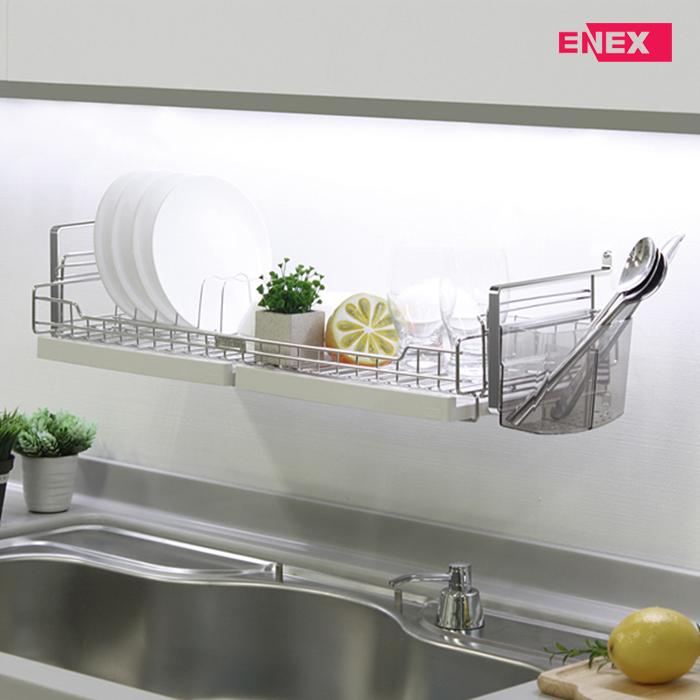 [에넥스] 에넥스 벽부착식 식기건조대 싱크대선반 600