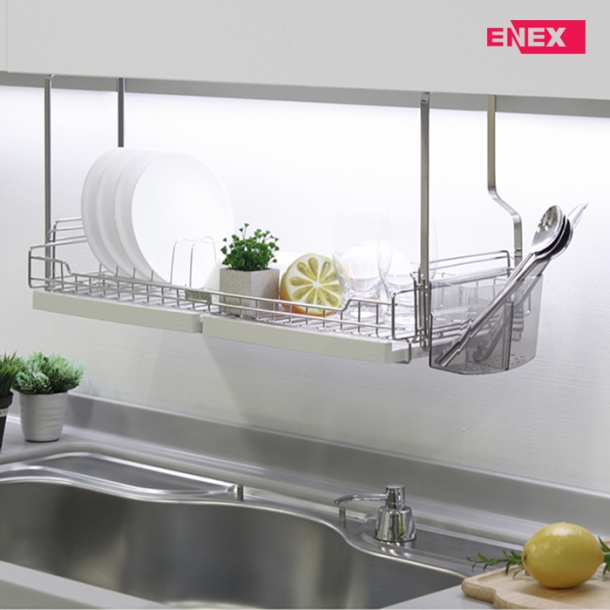 [에넥스] 에넥스 1단 식기건조대 싱크대선반 600