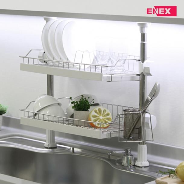 [에넥스] 에넥스 로얄 기둥식 2단 식기건조대 450