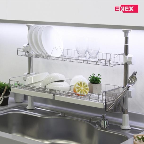 [에넥스] 에넥스 기둥식 2단선반 650