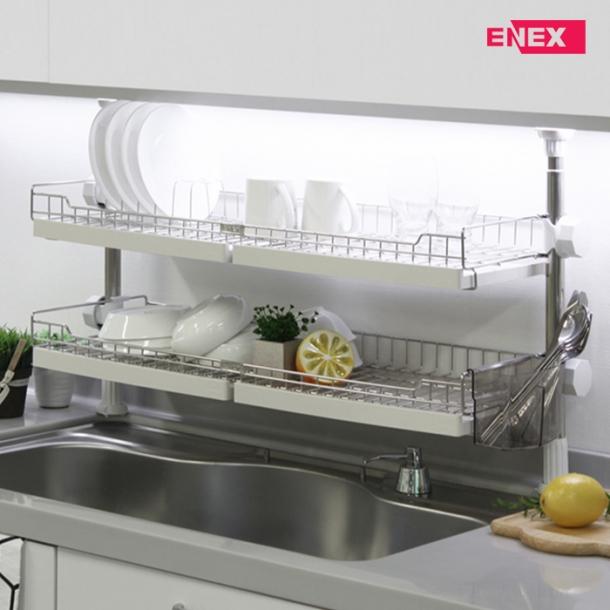 [에넥스] 에넥스 로얄 기둥식 2단 식기건조대 800